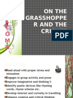 On the Grasshopper and the Cricketpower Point