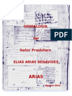 Genealogia Arias Vega (Heredia, Costa Rica)