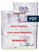 GENEALOGIA BENAVIDEZ (Heredia; Costa Rica)