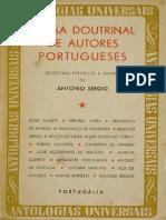 SÉRGIO, Antonio - Prosa doutrinal de autores portugueses.1.pdf
