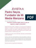 ENTREVISTA a Pedro Neyra - MimediaNaranja