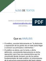 Analisis de Textos-2015
