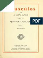 HERCULANO, Alexandre - Opusculos 08