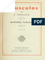 HERCULANO, Alexandre - Opusculos 04