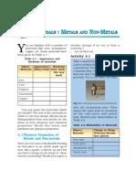Sci8_4_Materials Metals and Non-Metals