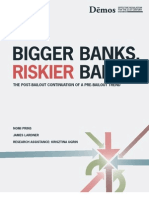 Bigger Banks Riskier Banks
