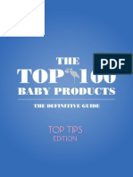 Top 100 Baby Products - Top Tips Edition