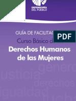Curso Básico de los Derechos Humanos de las Mujeres