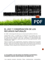Uso y Conservación de Recursos Naturales