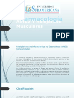 AINES Y Relajantes Musculares