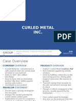 Curled Metal Inc. Solution