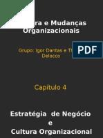 Cultura e Mudanças Organizacionais Ppt Igor Dantas e Thiago Delocco