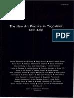 The New Art Practice in Yugoslavia 1966-1978