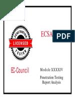 LPTv4 Module 44 Penetration Testing Report Analysis