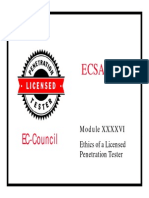 LPTv4 Module 46 Ethics of a Licensed Penetration Tester
