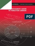 Guia de diseño carburo de tungsteno
