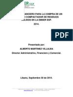 Analisis Financiero Compra