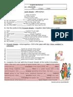 Present Simple Revision Doc (1)