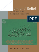 Islam and Belief