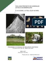 Estudio de Factibilidad La Laguna en Esmeraldas
