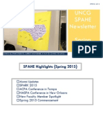 spahe newsletter april 2015