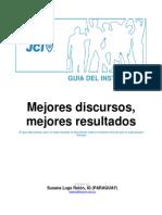 Mejores Discursos, Mejores Resultados - Trainers Guide-SPA