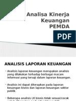 Analisa Kinerja Keuangan Pemda