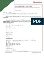 Equação e Inequação do 1° Grau - Teoria.pdf