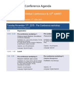 WARFS Antigua 2015 Conference - UPDATED -FINAL November 3rd 2015