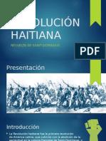 Revolución Haitiana en Saint-Domingue.