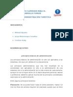 Resumen Adm. Administracion ISPADE