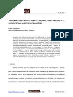 Alabarces, Pablo - Rock, cumbia y la cultura del aguante
