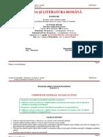 Planificare Lb. Romana Cls 5
