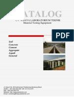 Catalog Uji Laboratorium CV Wijaya Laboratorium Teknik