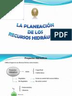 5. La Planeación de Los Recursos Hidráulicos