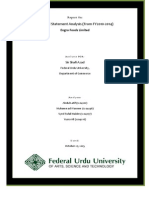 Engro Foods Report (FSA)