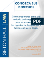 Know Your Rights Guide En Espanol