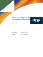 Solaris Hardening Guide v1