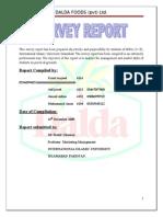 24486313 Dalda Foods Ltd Complete Project Iiui