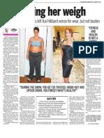 Kai Hibbard, Keeping Fit, Sun Media (Feb. 8, 2010)