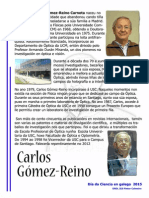 Carlos Gómez -Reino Carnota