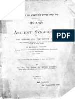 History of the Ancient Synagogue of the Spanish and Portuguese Jews_bw