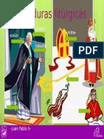 Vestiduras litúrgicas