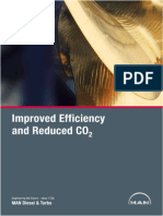 MAN Improved Efficiency and Reduced CO