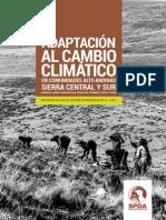 Adaptacion Al Cambio Climatico-sierra Central y Sur