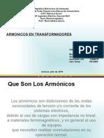 Armonicos en Transformadores