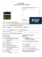 Chick-Fil-A Planning Application in Reno