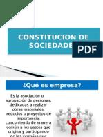 Constitucion de Empresas de Sociedades