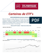 ETF Portfolio Allocation 4Q2015