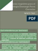 Taller Modelo Sociocognitivo Para El Colegio Domingo Parra Corvalán 2015 2 Semestre